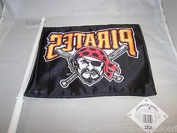 1 Pittsburgh Pirates MLB Car Flag