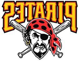 12 sticker pittsburgh pirates baseball vinyl car