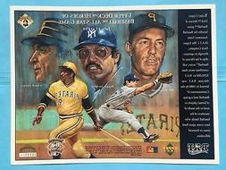 1994 Pittsburgh Pirates All Star Game Upper Deck Sheet SGA U