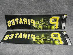 Pittsburgh Pirates Bumper Sticker Stickers Decal City River