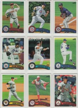 2011 Topps Baseball Team Sets **Pick Your Team**