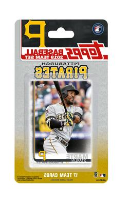 2019 Topps Factory Sealed Team Set - 17 Cards - Pittsburgh P