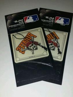 2x Mlb Pittsburgh Pirates Baseball Diamond Pine Scent Air Fr
