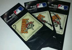 3x Mlb Pittsburgh Pirates Baseball Diamond Pine Scent Air Fr