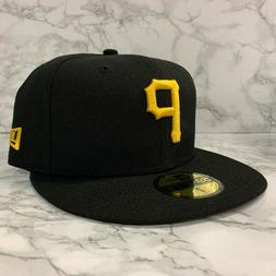 NEW ERA 59FIFTY FITTED PITTSBURGH PIRATES CUSTOM BLACK MEN H