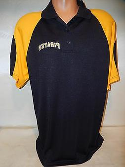 9601-5 MENS MLB Apparel PITTSBURGH PIRATES Performance Polo