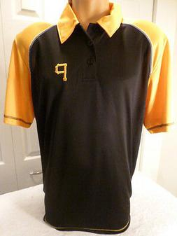 9601-5 MLB Apparel PITTSBURGH PIRATES Performance Polo Golf