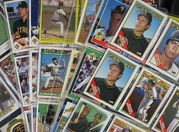 99 Baseball Cards in Sleeves 1980's-90's Pittsburgh Pirates