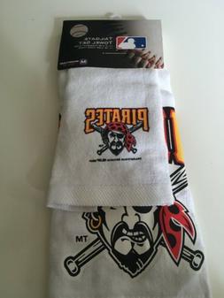 brand new pittsburgh pirates tailgate towel set