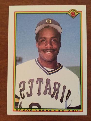 1990 bowman barry bonds 181 card comes