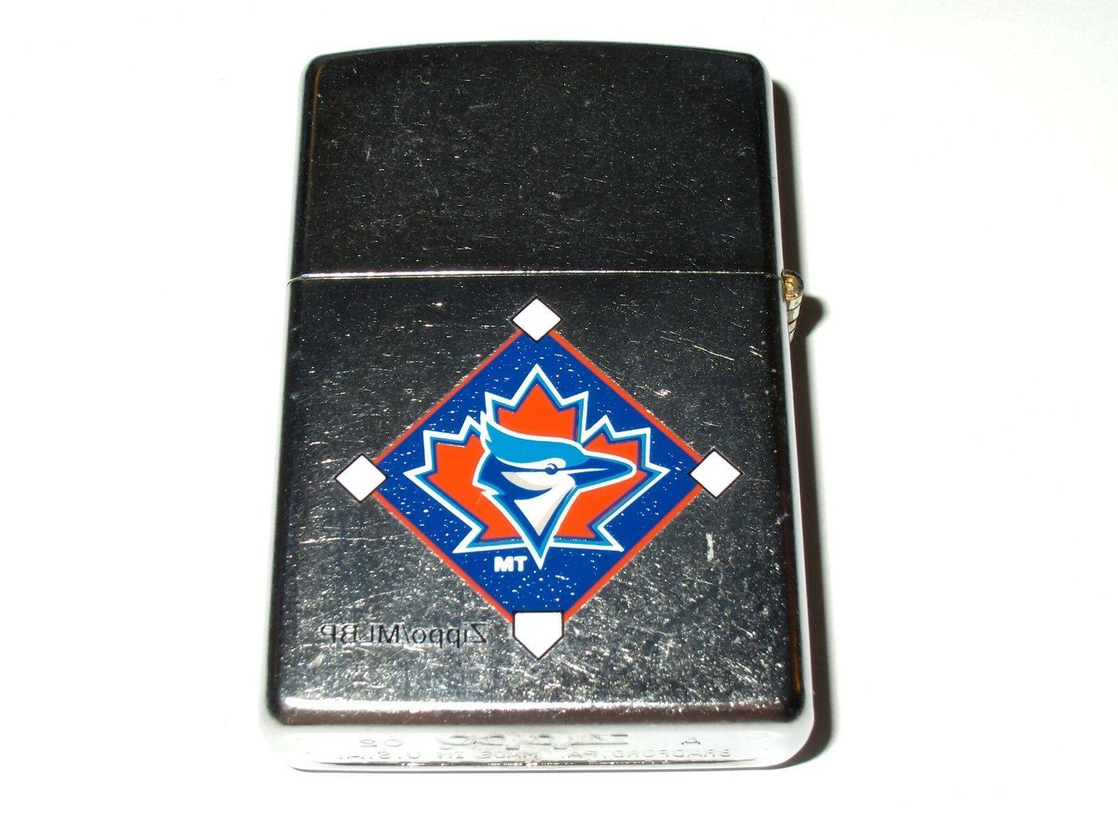 Zippo 2002 League Baseball Street Lighter