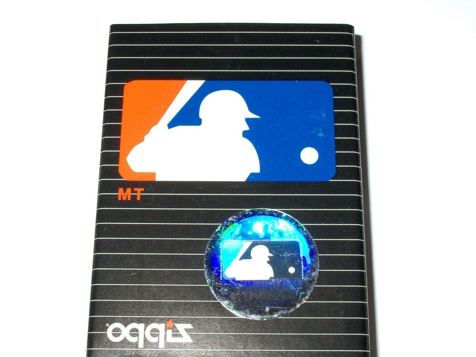 Zippo 2002 MLB League Lighter
