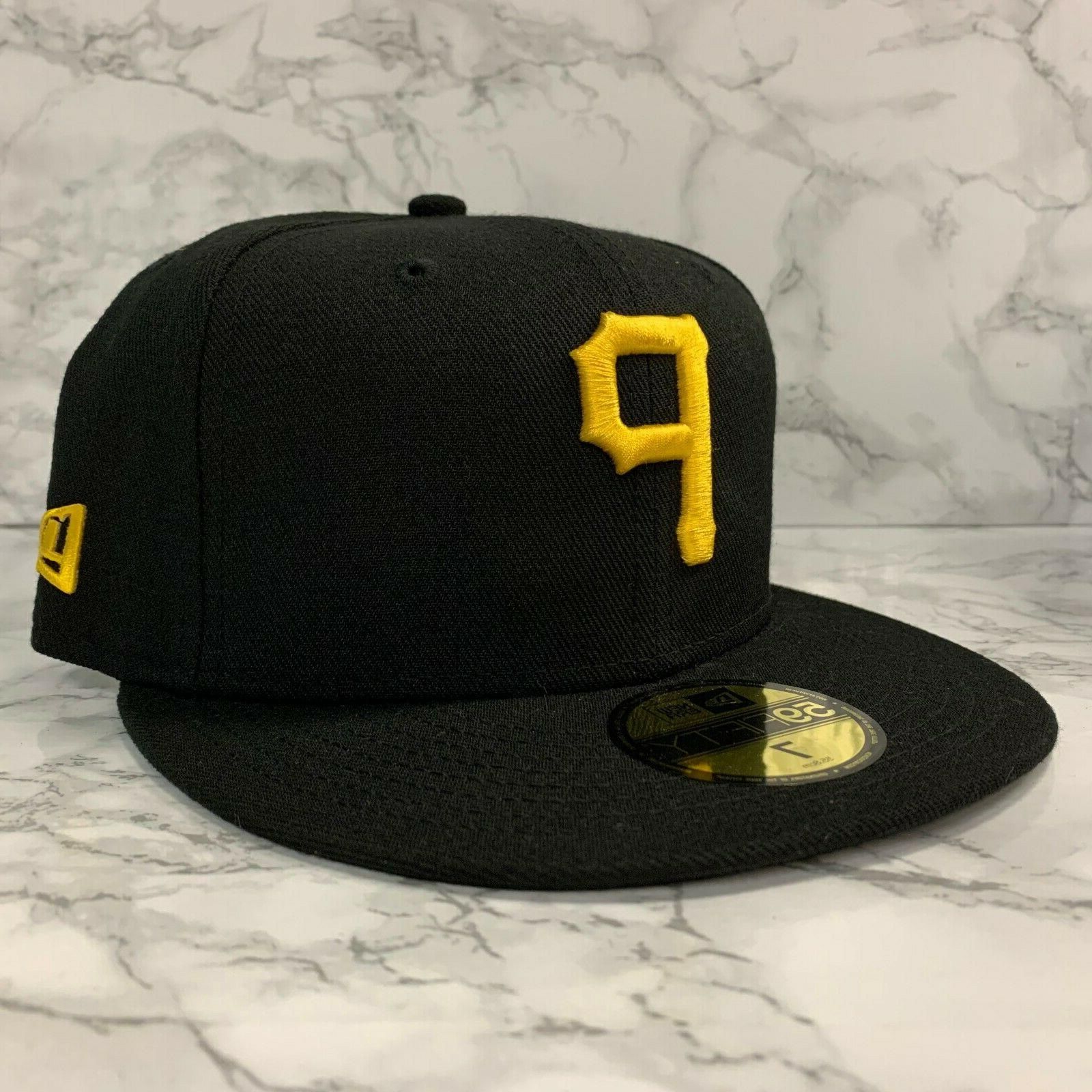59fifty fitted pittsburgh pirates custom black men
