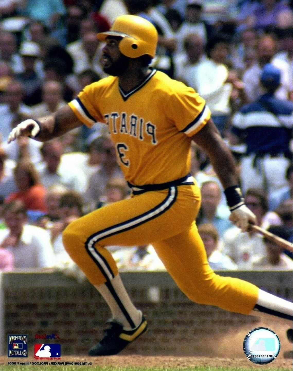 dave parker pittsburgh pirates mlb licensed unsigned