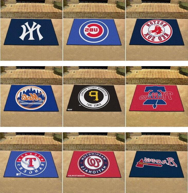 mlb area rugs allstar mat choose your