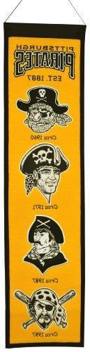 MLB Pittsburgh Pirates Heritage Banner