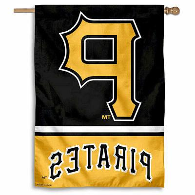mlb pittsburgh pirates house flag and banner