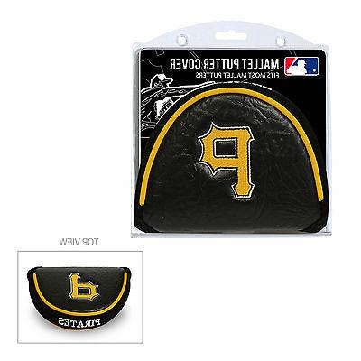 mlb pittsburgh pirates mallet putter cover golf