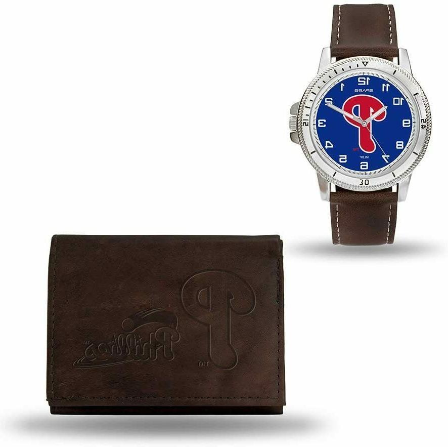new mlb men s brown watch