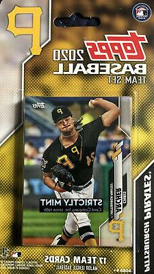Pittsburgh Pirates 2020 Topps Factory 17 Card Team Set Marte