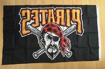 pittsburgh pirates 3x5 ft flag mlb