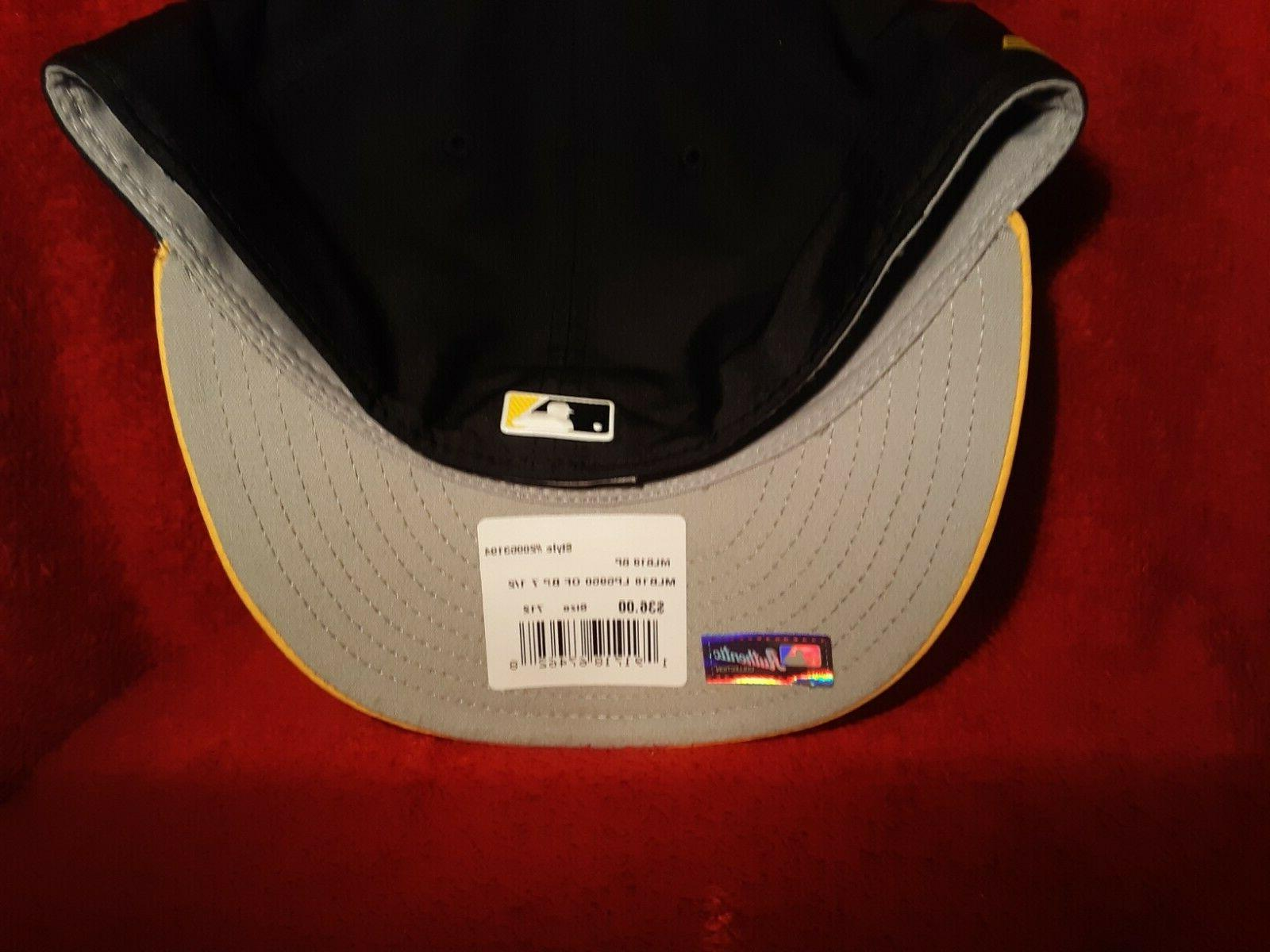 Era Hat Gold Low NWT With