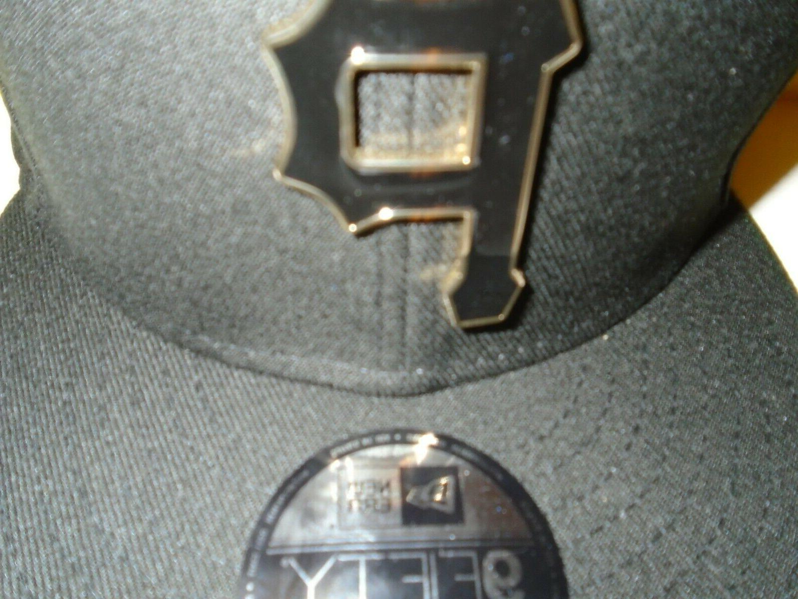 Pittsburgh Pirates New 9FIFTY Black Gold Metal NEW
