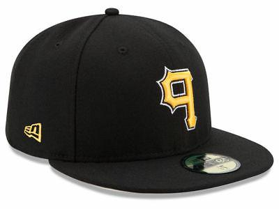 pittsburgh pirates alt 59fifty fitted hat black