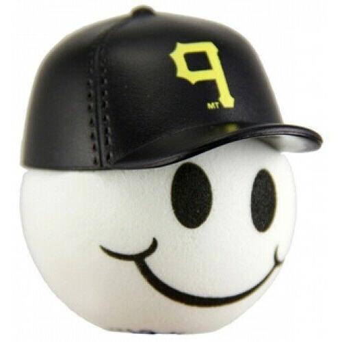 pittsburgh pirates baseball cap head car antenna