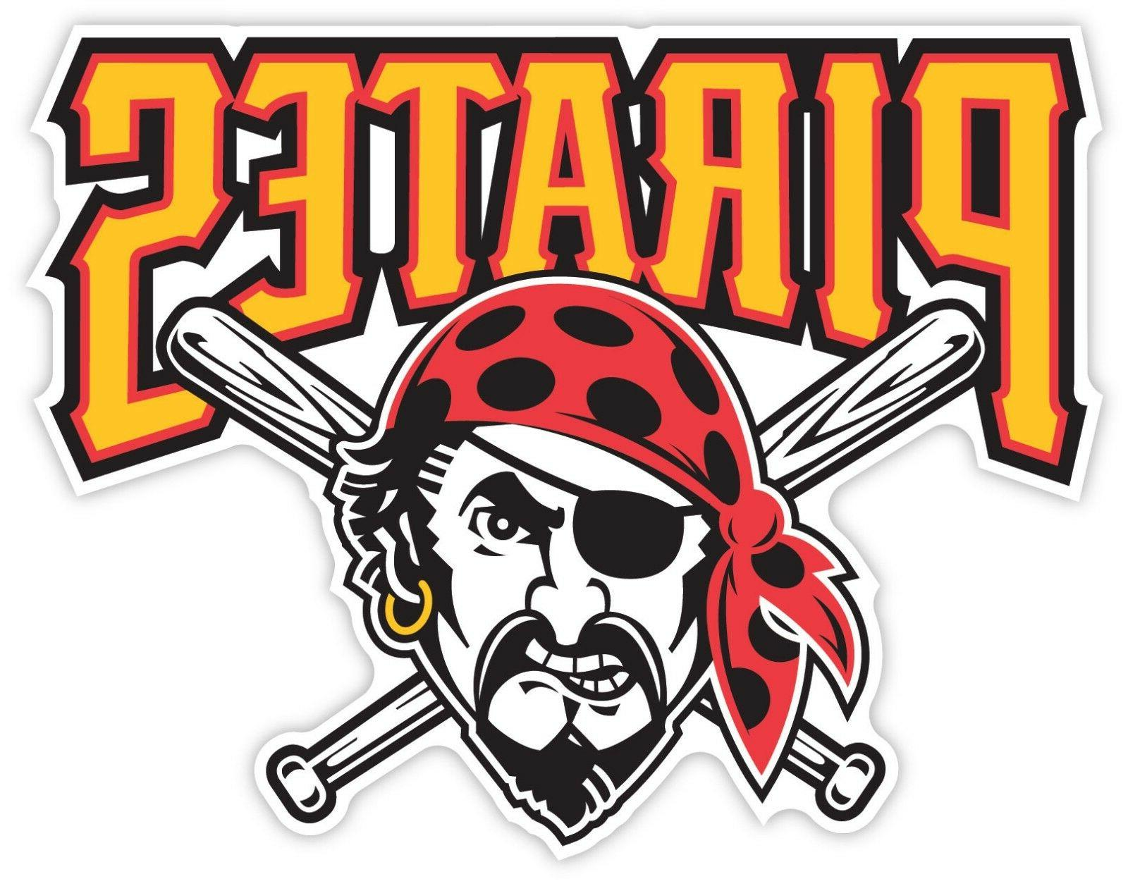 pittsburgh pirates baseball sticker decal for cornhole