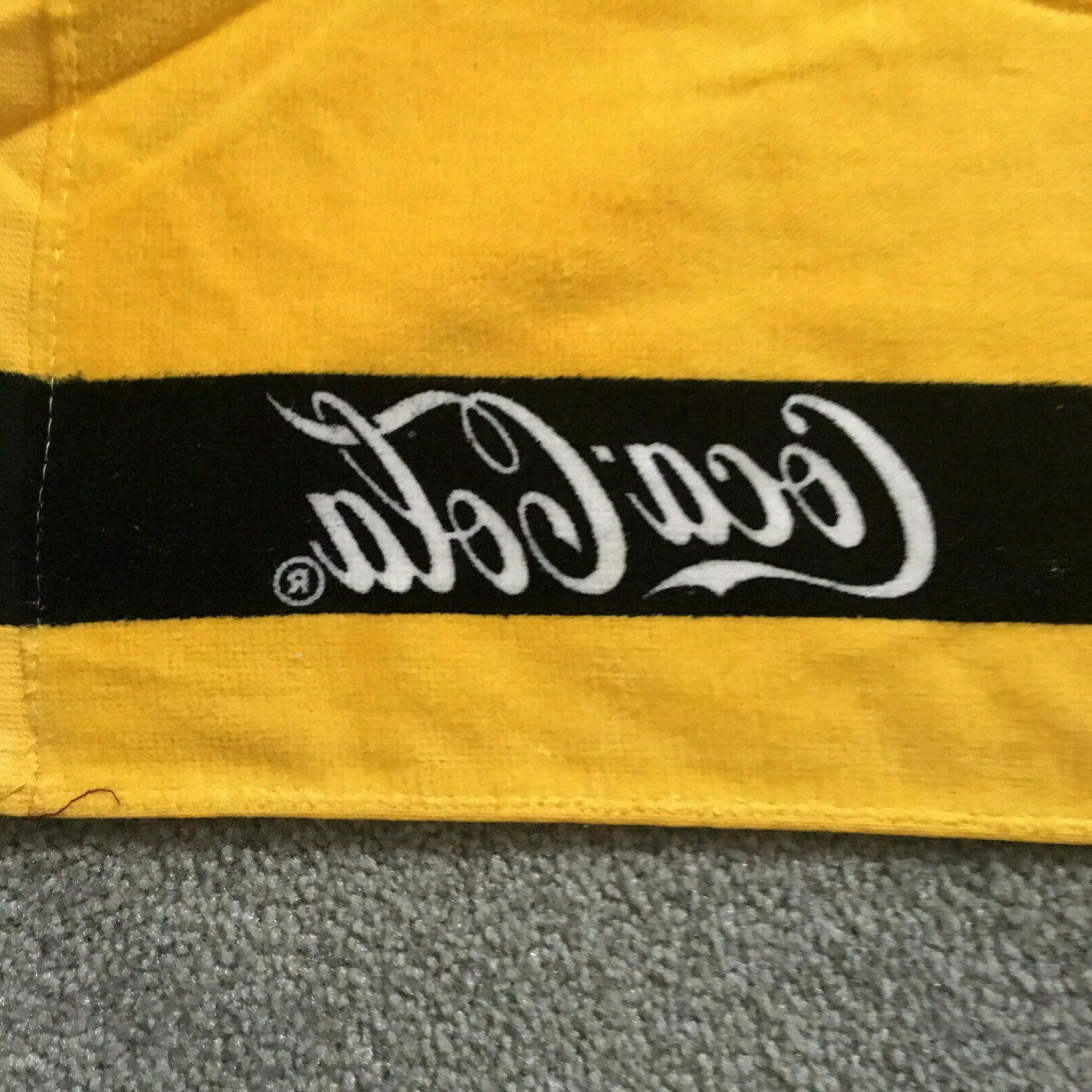 "Pittsburgh Beach Towel 100% X 27"" Gold"