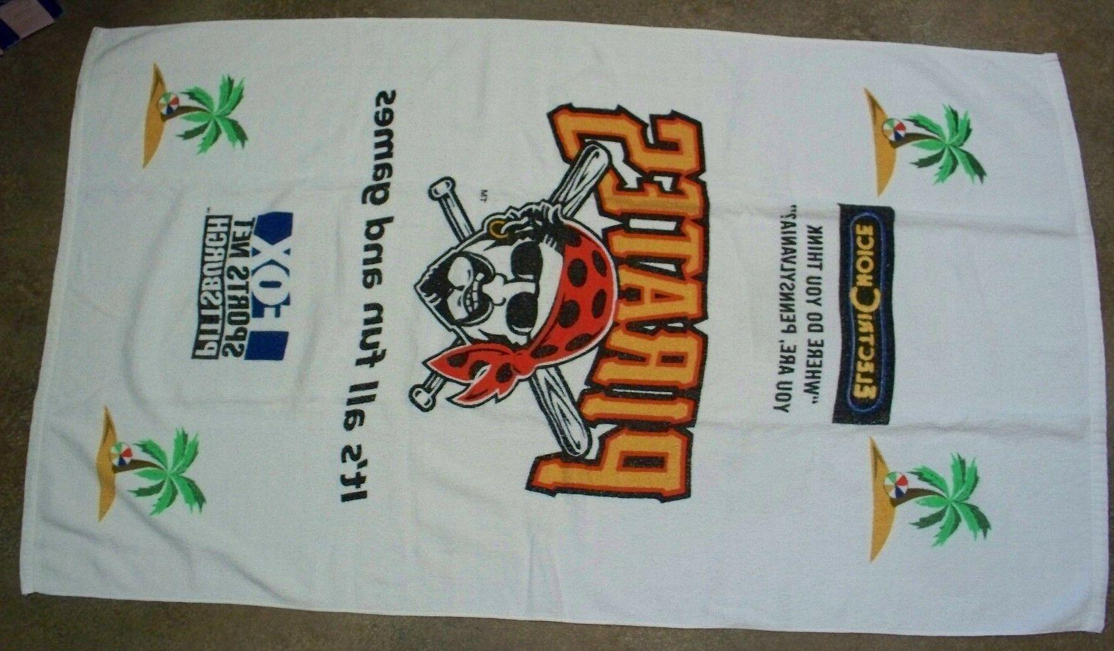 pittsburgh pirates beach towel and inflatable pool