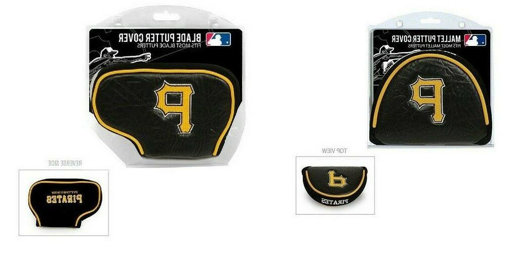 pittsburgh pirates blade or mallet putter golf