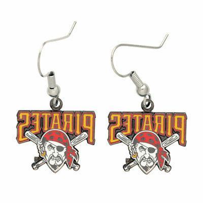 pittsburgh pirates dangle earrings new