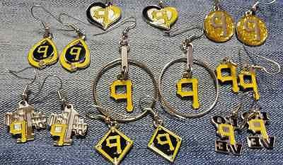 pittsburgh pirates dangle earrings sale 30 percent