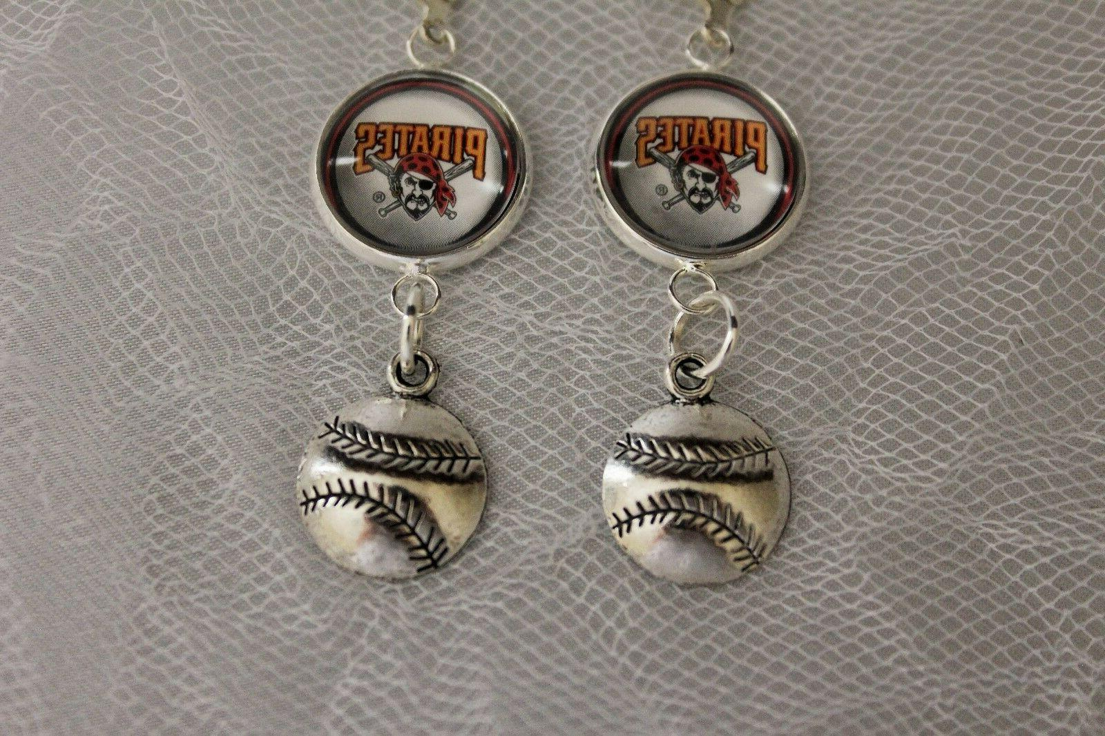 Pittsburgh Pirates Charm Upcycled from
