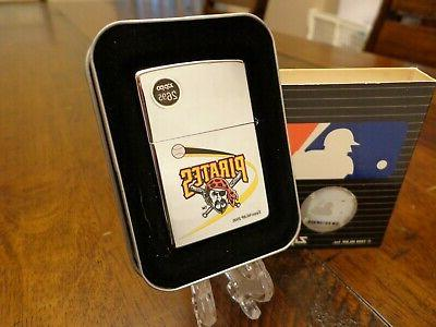 pittsburgh pirates lighter mint in box retired