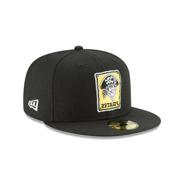 pittsburgh pirates mlb cooperstown collection 59fifty fitted