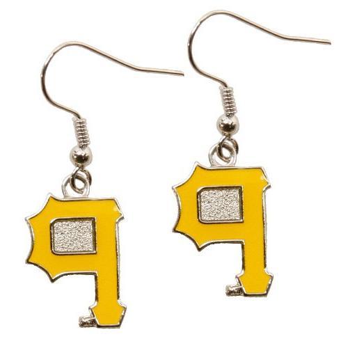pittsburgh pirates team dangle earrings