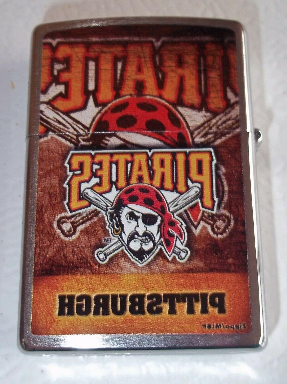 pittsburgh pirates zippo lighter nib