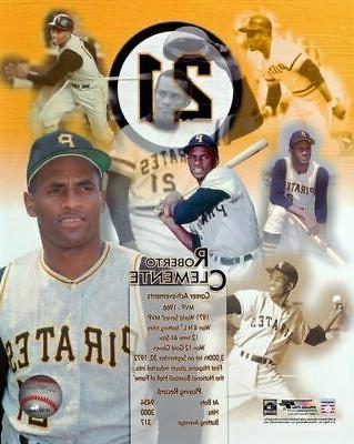 roberto clemente pittsburgh pirates licensed poster print