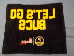 Let's Go Bucs Pirates Rally Towel SGA PNC Park Pittsburgh Pi