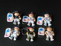 Lil Sports Brat MLB Key Chains 1986 - YOU CHOOSE Chicago, Ne