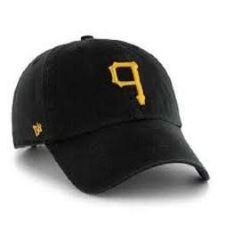 MEN'S New Era Core Classic Pittsburgh Pirates Dad Hat-BLACK