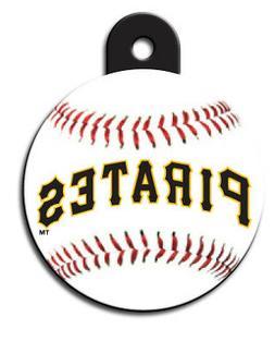 MLB Engraved Pittsburgh Pirates Pet ID Tag fast ssh