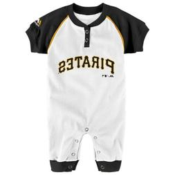 "Majestic MLB Infant Pittsburgh Pirates ""Game Time"" Coverall"