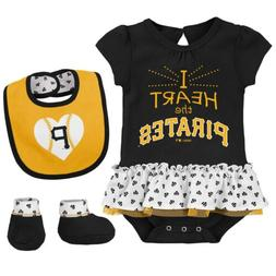 Outerstuff MLB Infant Pittsburgh Pirates Play with Heart Cre