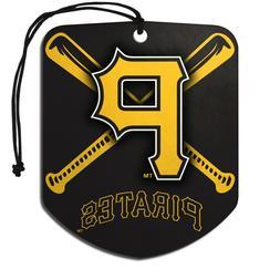 Team ProMark MLB Pittsburgh Pirates 2-Pack Air Freshener 2-4