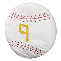 MLB Pittsburgh Pirates 3D Sports Pillow, One Size, Multicolo