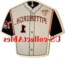 MLB Pittsburgh Pirates Baseball Jersey Air Freshener Rare Co